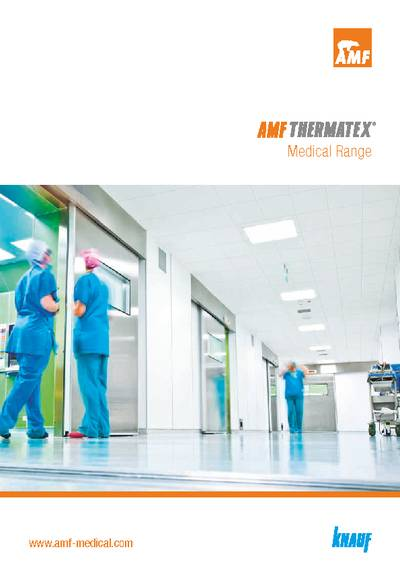 Download the THERMATEX<sup>&reg;</sup> Medical Range Brochure